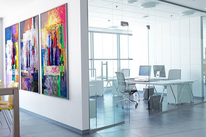Wnętrza biurowe w stylu nowoczesnym. Co obecnie jest w modzie?