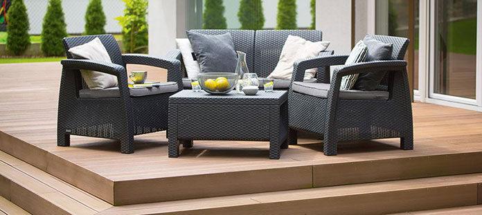 Fotele czy sofy na taras